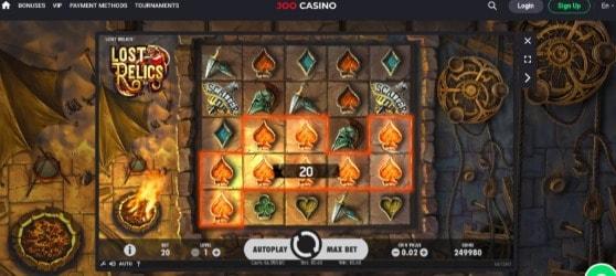 Joo Casino Review - Lost relics