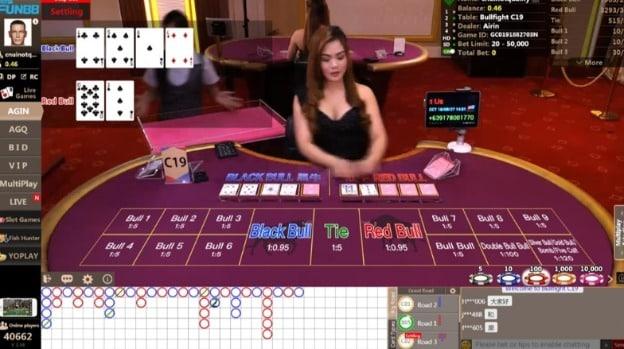 Live Dealer at Fun88 Casino