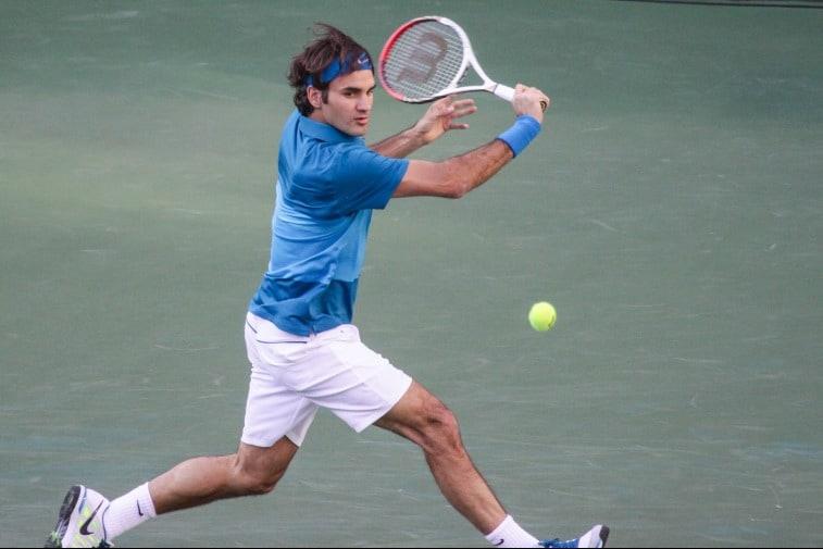 Roger Federer เดิมพันเทนนิส