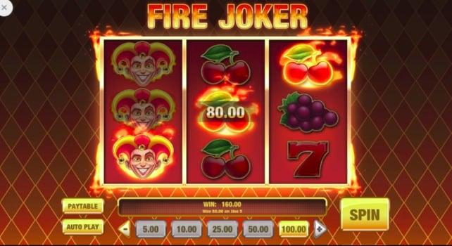 Lucky Niki Casino Fire Joker Slot