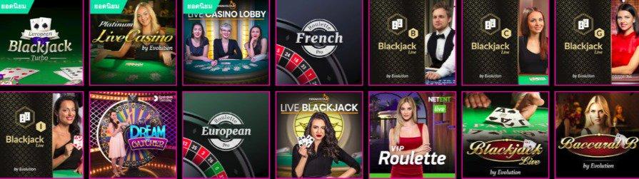 Lucky Niki Casino Live Dealers