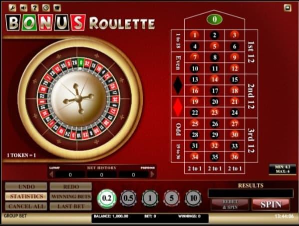 Bonus Roulette at 7Bit Casino
