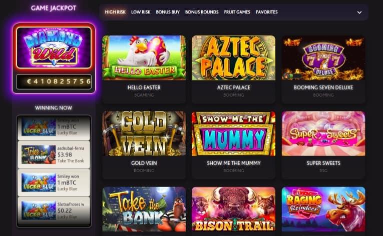 7Bit Casino Slots Selection