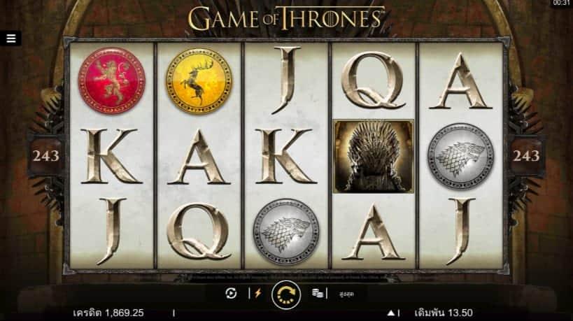 Game of Thrones Slot at Bao Casino