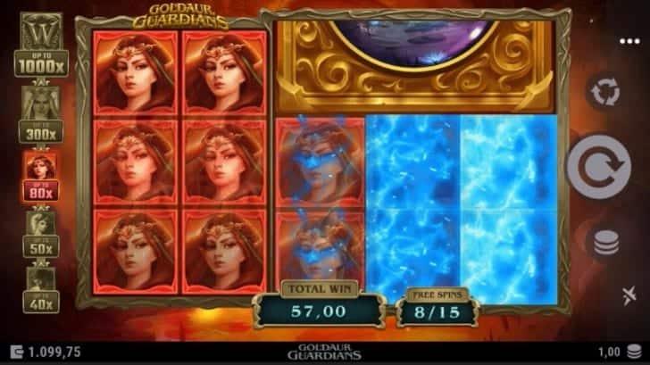Goldaur Guardians Slot - JackpotCity คาสิโนรีวิว