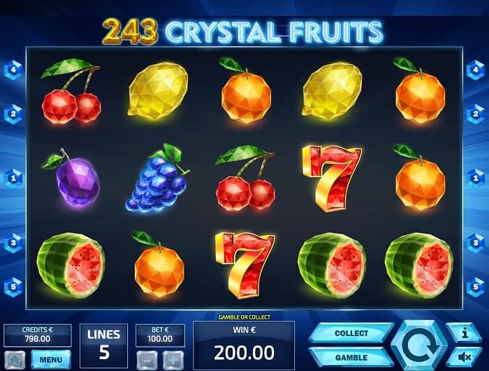 243 Crystal Fruits สล็อต, โดย Tom Horn, ที่ wins88 คาสิโน