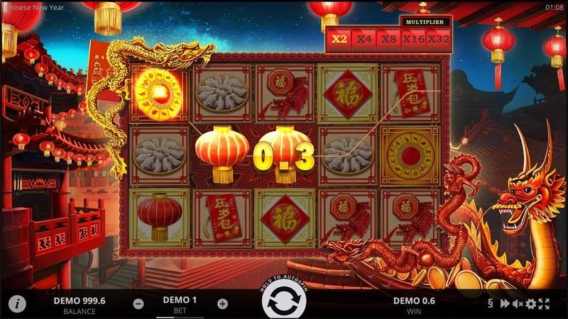 Chinese new year สล็อต, โดย Evoplay, ที่ wins88 คาสิโน