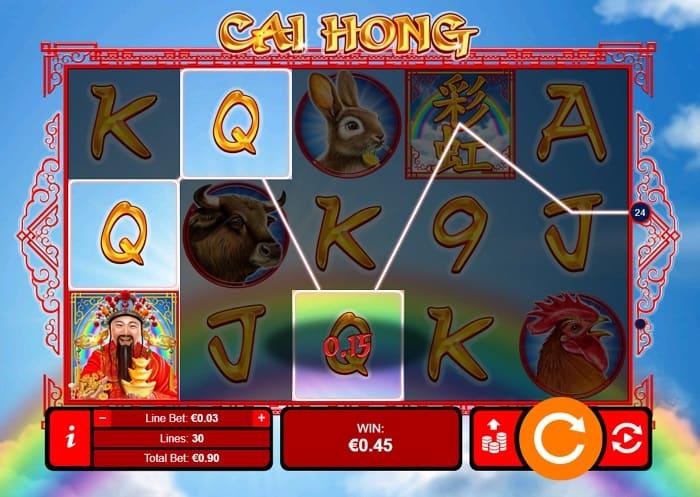 Cai Hong Slot Game at Slots Hall Casino
