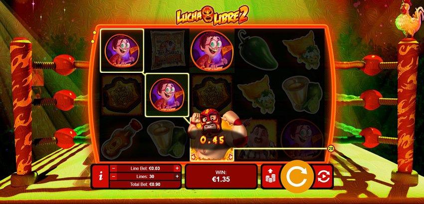 Lucha Libre 2 Slot at Slots Hall Casino