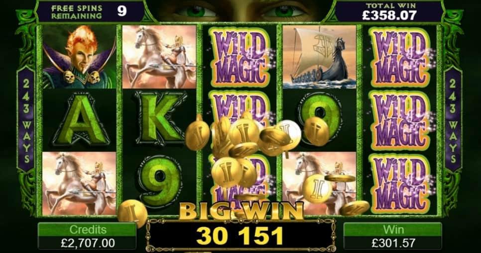Thunderstruck II สล็อต, โดย Microgaming, ที่ Spin Casino