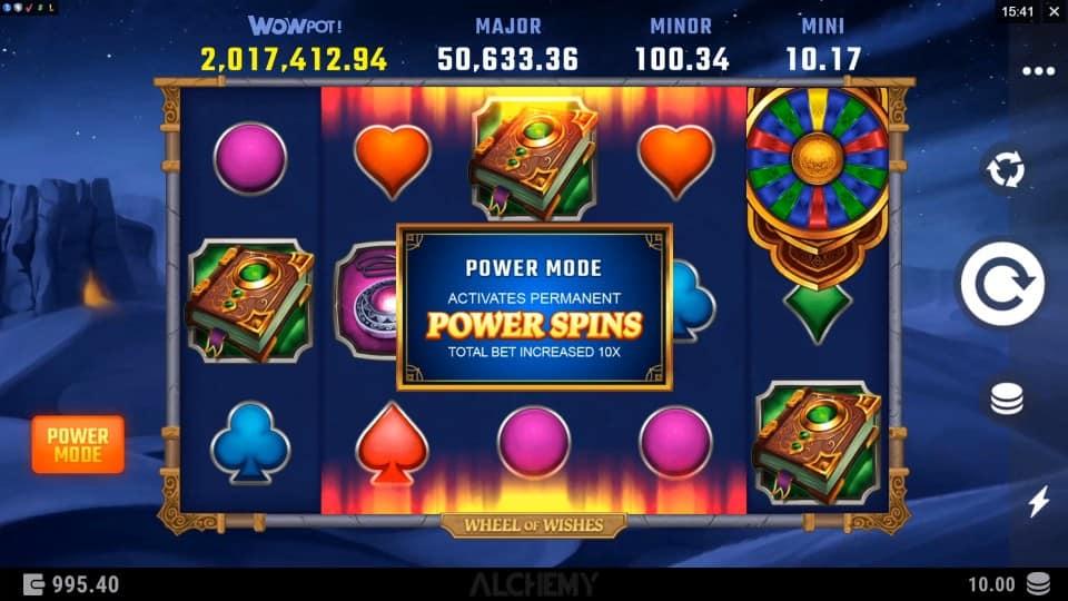 Wheel of Wishes สล็อต, โดย Microgaming, ที่ Spin Casino