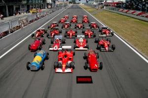 formula1 line up