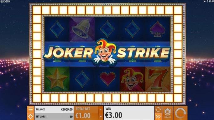 Joker Strike สล็อต โดย QuickSpin ที่ SexyCasino
