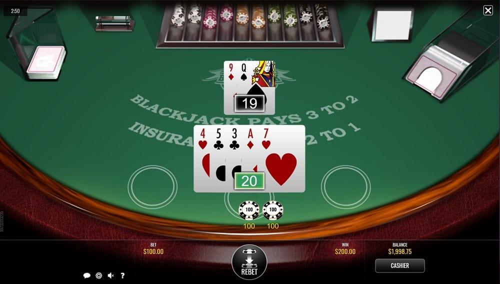 Blackjack Game at Bitkingz Casino