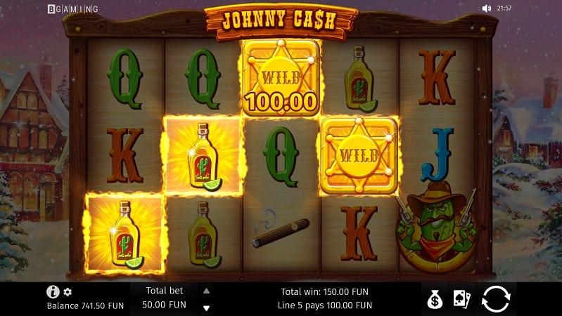 Johnny Cash Slot by BGaming - Bitkingz Casino