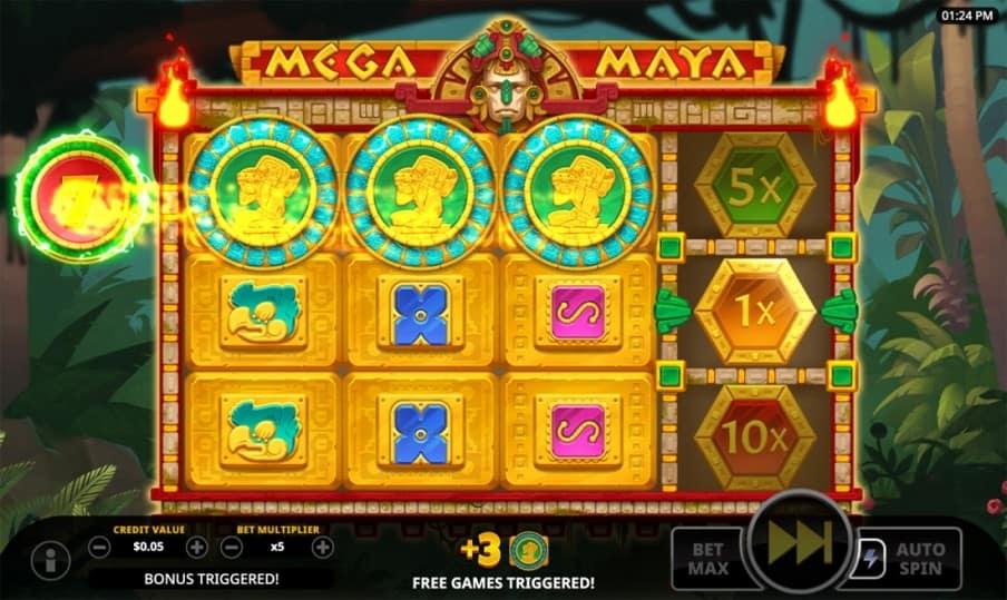 Mega Maya Slot by Swintt - Bitkingz Casino