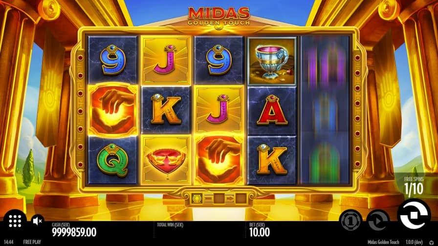 Midas Golden Touch Slot by Thunderkick