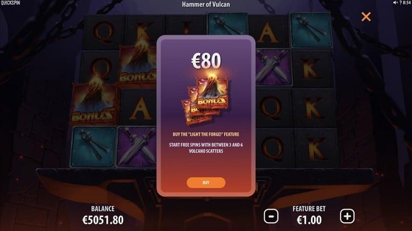 Hammer of Vulcan Slot by Quickspin - Kim Vegas Casino Review