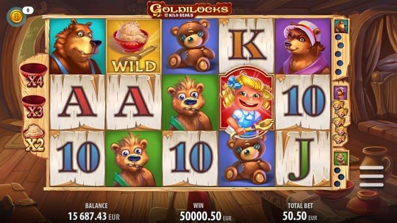 Kim Vegas Casino Review - Goldilocks Slot by Quickspin