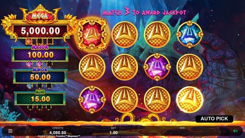 Lucky Days คาสิโน – Ancient Fortunes Poseidon Megaways™ สล็อต โดย Microgaming