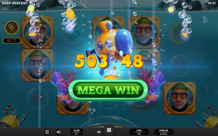 Deep Descent สล็อต โดย Relax Gaming ที่ Lucky Days